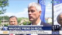 """Laurent Wauquiez """"ne veut plus faire de commentaires sur la politique nationale"""""""