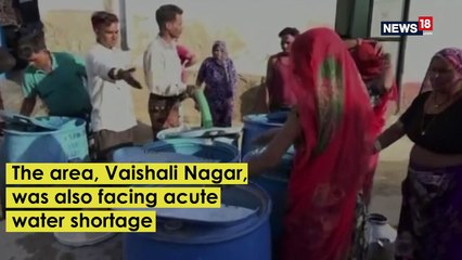 Ajmer Residents Lock Water Containers Amidst Rajasthan Heatwave