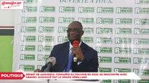 Départ de Ahoussou, conquête du pouvoir en 2020, sa rencontre avec Gbagbo, Guikahué fait le grand déballage