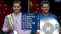 En chifres: Roger Federer vs Rafaël Nadal