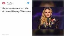 Madonna se dit elle aussi victime d'Harvey Weinstein, qui aurait «dépassé les limites»
