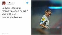 Ligue 1. Stéphanie Frappart va devenir la première femme arbitre à exercer dans l'élite