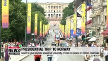 Moon's visits to Finland, Norway and Sweden focused on innovative growth, peace and inclusivity