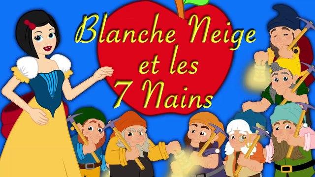 Blanche Neige et les 7 Nains   1 Conte + 2 comptines et chansons    dessins animés en français