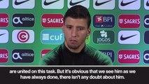 Ronaldo 'needs team to support him' says Dias ahead of UNL final