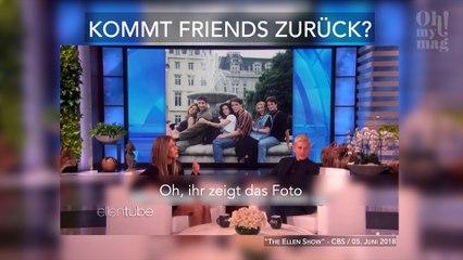 """Gibt es ein Comeback der Kultserie """"Friends""""? Jennifer Aniston verrät uns mehr"""