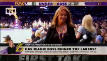 Jeanie Buss is on the brink of ruining the Lakers' franchise - Stephen A