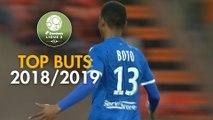 Top 3 buts AJ Auxerre   saison 2018-19   Domino's Ligue 2