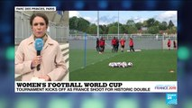Women's World Cup kicks off in France