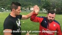 Romain Gauci, rugbyman handicapé, s'entraîne pour les Jeux Paralympiques Paris 2024