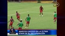 Marcos Caicedo se está recuperando satisfactoriamente y retornar al plano titular de Barcelona