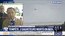 """Sauveteurs morts aux Sables-d'Olonne: pour Bruno Retailleau, """"c'est un drame absolu"""""""