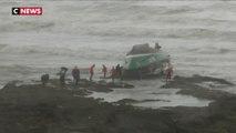 Tempête Miguel : 3 sauveteurs meurent après un chavirage au large des Sables-d'Olonne
