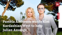 Pamela Anderson Asks For Kim K's Help