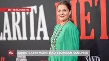 Drew Barrymore Embraces Stomach Sculpting