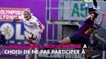 Coupe du monde féminine : Ada Hegerberg absente de la compétition, la raison dévoilée