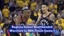 The Raptors Won Game 3 And It's A Battle