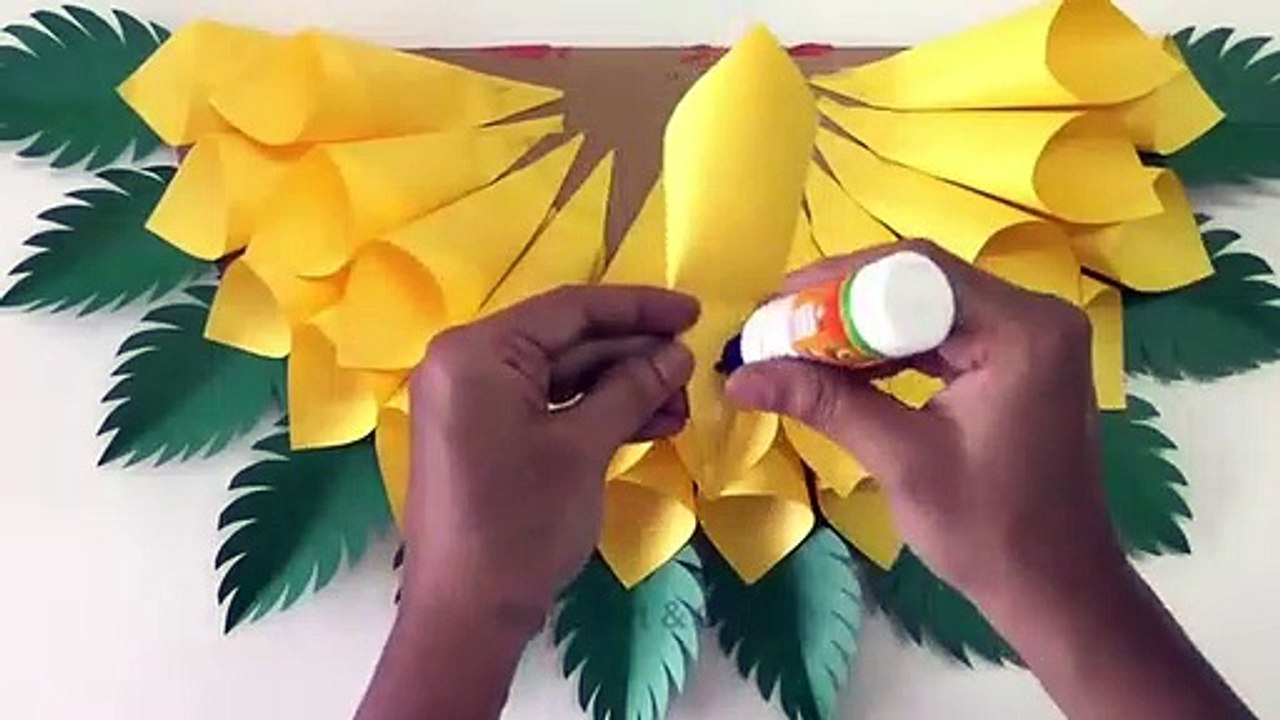 Paper Stars: How to make hanging stars decorations | Hanging stars ... | 720x1280
