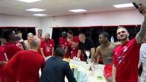 Coupe de Provence : la joie dans le vestiaire d'Istres FC