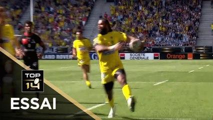 TOP 14 - Essai Alivereti RAKA (ASM) - Clermont - Lyon - Demi-finales - Saison 2018/2019