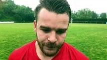 Coupe du Rhône – Guillaume HOFF réagit après la victoire du FC LYON contre MDA Foot B