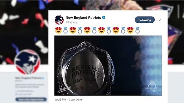 Patriots unveil Super Bowl LIII rings, largest ever