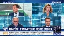 Tempête Miguel: trois sauveteurs morts en mer (2/2)