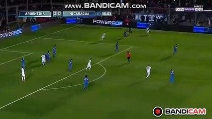 Super L.Messi Goal  (1-0) Argentina vs Nicaragua