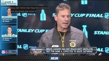 Bruce Cassidy Weighing Lineup Options Heading Into Game 6 Vs. Blues