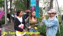 Đừng xem - LTA làm ảo thuật cho 2 e gái Tây | Beautiful Street Magic in Vietnam