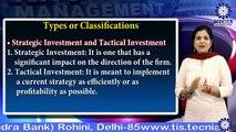 Types & Phases Capital Budgeting  ||  Dr.Nitu Agarwal || BBA || TIAS || TECNIA TV