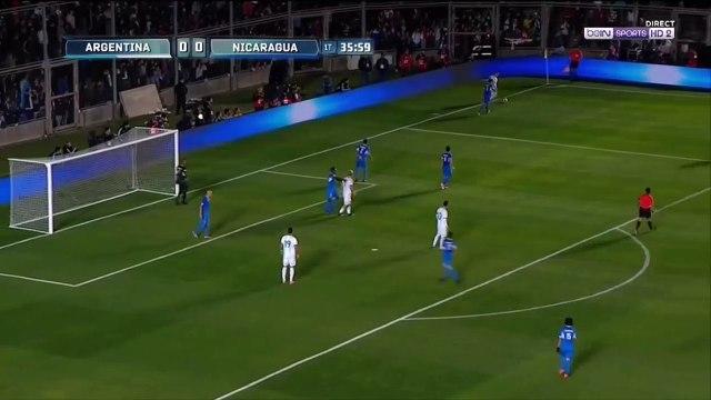 Messi great solo goal vs Nicaragua