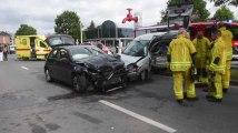 Grave accident à Jambes ( Namur )
