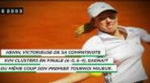 Il y a 16 ans - Justine Henin remportait la première finale 100% belge de l'histoire
