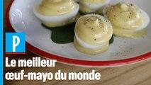 Son œuf-mayo est le meilleur du monde… et il vous donne sa recette