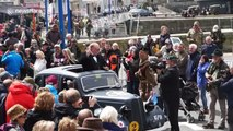 Churchill impersonator delights D-Day crowds in northern France
