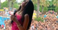Yüzde 90'ı erkek olan hayranlarına konser veren Bahar Candan izdihama neden oldu