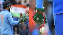 World Cup 2019: MS Dhoni's balidan badge wicket keeping gloves made in Meerut | वनइंडिया हिंदी