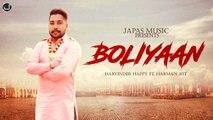 New Punjabi Songs 2019 | Boliyaan | Harvinder Happy ft. Harman Jot | Japas Music