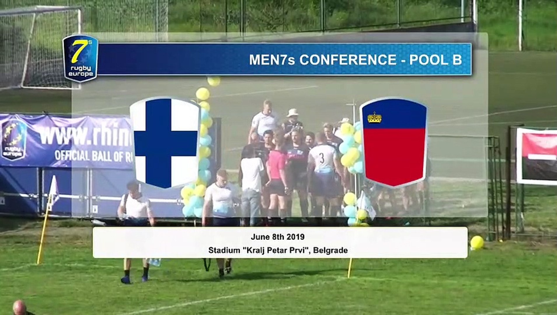 REPLAY GAMES 3 -  RUGBY EUROPE MEN 7s CONFERENCE 2019 - BELGRADE 2019