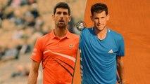 Roland-Garros 2019 : Le résumé de Novak Djokovic - Dominic Thiem