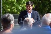 AUDIO.  Pourquoi le maire de Remiremont Jean Hingray part à la rencontre des quartiers ?