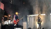 Delgres en concert sur la scène B lors du festival Art Rock 2019