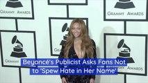 Beyonce's Publicist Speaks Out
