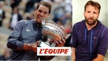 Nadal peut-il battre le record de titres du Grand Chelem de Federer ? - Tennis - ATP - Roland-Garros