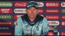 England's Eoin Morgan post win v Bangladesh