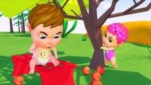 Kinder schlafen - Affen und Kaninchen hängen mit Babys rum - Kinderlieder Bildung Für Kinder
