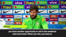 (Subtitled) Alisson moved on from Liverpool UCL triumph