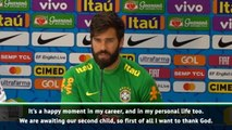 Alisson hopes to continue Liverpool success with Brazil