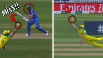 ICC Cricket World Cup 2019: IND v Aus|Rohit Sharma's Catch Was Dropped By Coulter-Nile In 2nd over